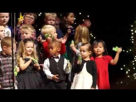 Chandler Christian Academy Preschooler Christmas Concert