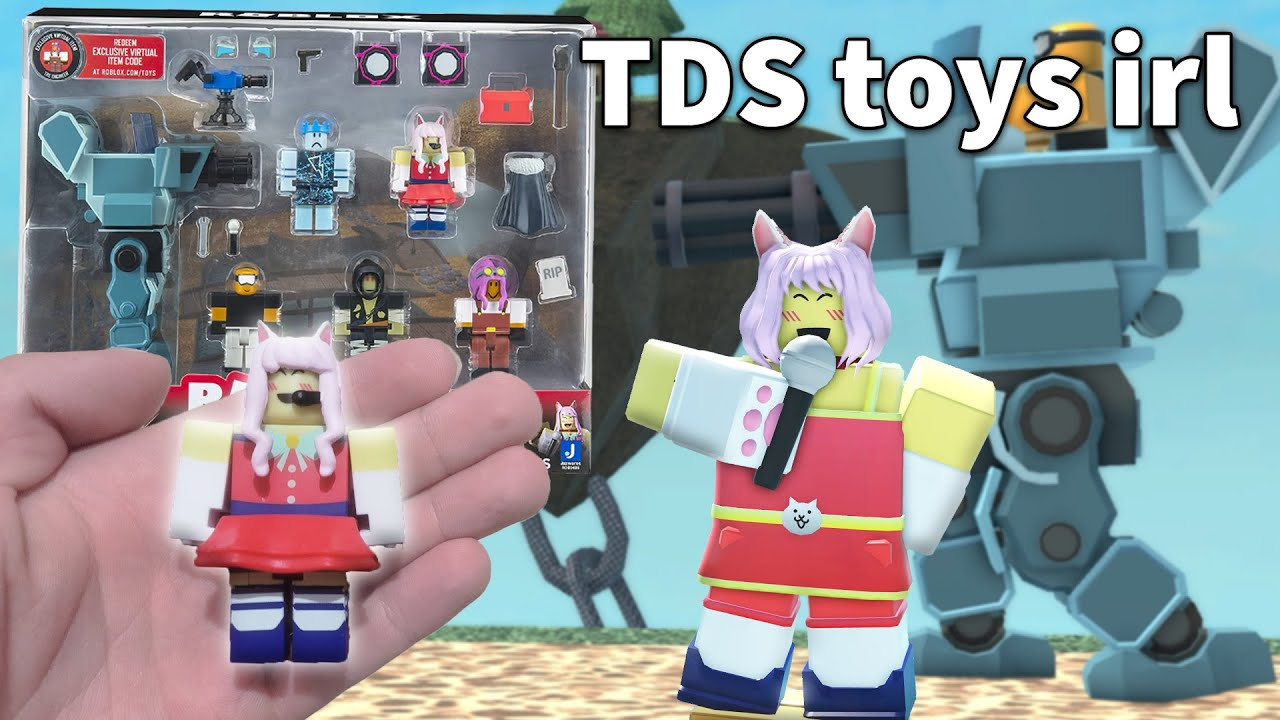 i bought the TDS toy set for $60 | ROBLOX