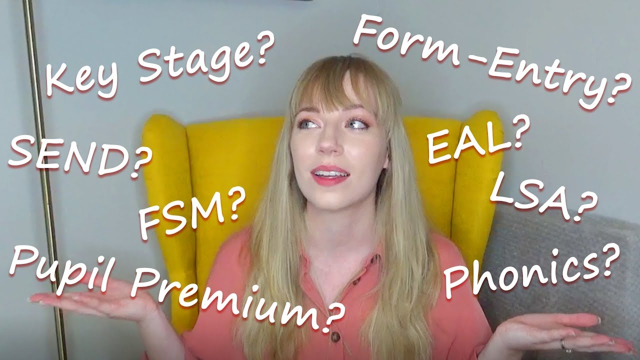 SCHOOL JARGON BUSTER | What does it all mean? - YouTube