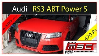 ABT Sportsline Audi RS3 2012 Videos