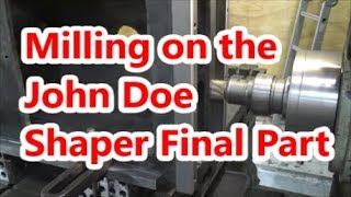 Machining a machine Tool: Rebuild back to Spec Part 4