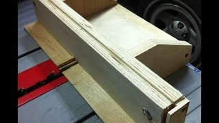 Home Made - Finger Joint Jig - Great Project - Part One