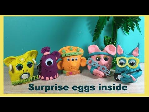 Surprise Chocolate Eggs.. hidden in Granny B. 's family...
