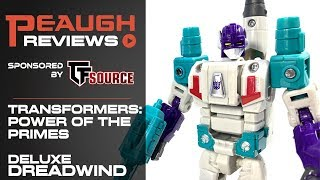 Video Review: Transformers: Power of the Primes - Deluxe DREADWIND