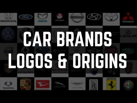 Famous Car Brands and Their Origin Countries | Car Brand Logos and Taglines (Must Know)