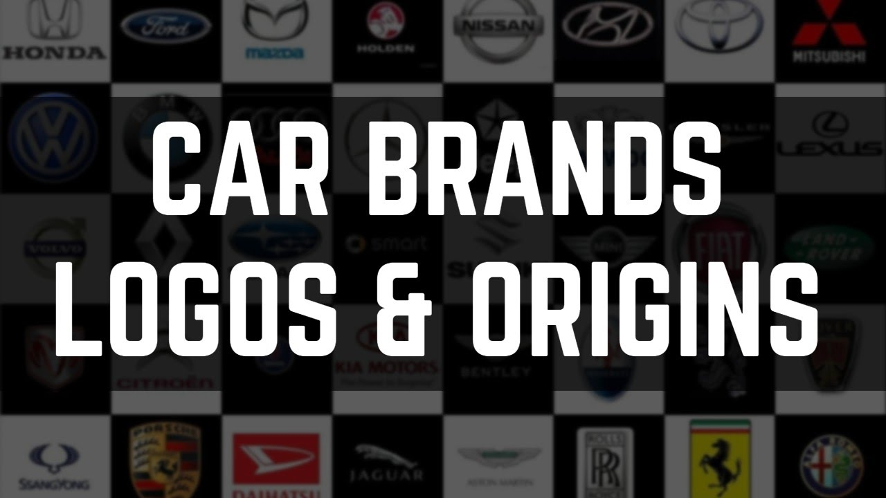 Famous Car Brands And Their Origin Countries Car Brand Logos And