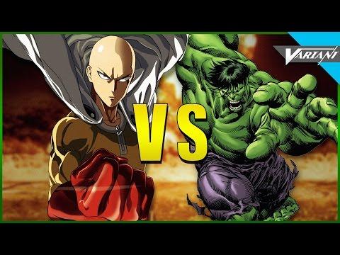 One Punch Man VS Hulk!