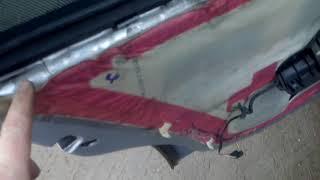 Разборка и ремонт карт дверей на опель омега б (рестайлинг)