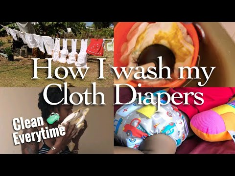 MY CLOTH DIAPER WASH ROUTINE | #BlackWomenDoClothDiaper