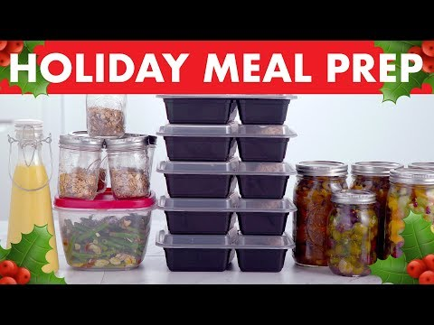 Healthy Meal Prep for the Holidays! - Mind Over Munch