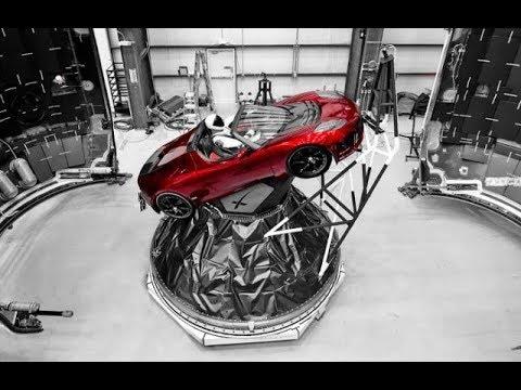 Falcon Heavy and STARMAN Blast Off ~ 2-6-18