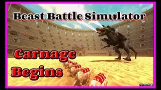 The Carnage begins, EP01 Beast Battle Simulator