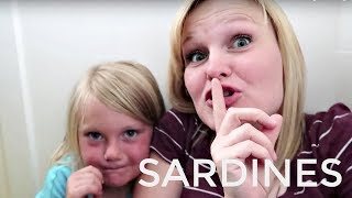 Sardines in our house! Hide and seek! We decided to play sardines i...
