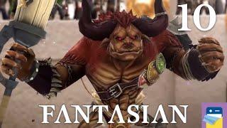 FANTASIAN: Gameplay Walkthrough Part 10 - Jail + Tournament + Minotaurus - Apple Arcade (MISTWALKER)