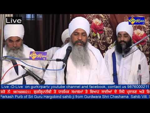 Gurdwara Shri Chashama  Sahib Vill. Salana Near Khanna On 5 July19 SANT BABA SUKHBIR SINGH JI KANDHO