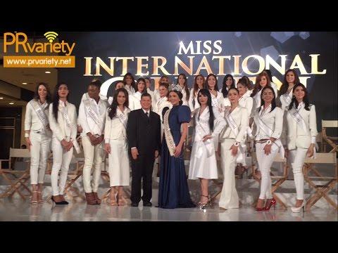 แถลงข่าวเปิดตัวผู้เข้าประกวด Miss international Queen 2016