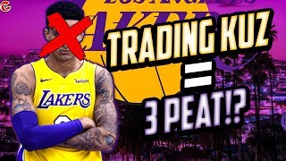 TRADING KUZ FOR THE BETTER!? LAKERS REBUILD! NBA 2K20