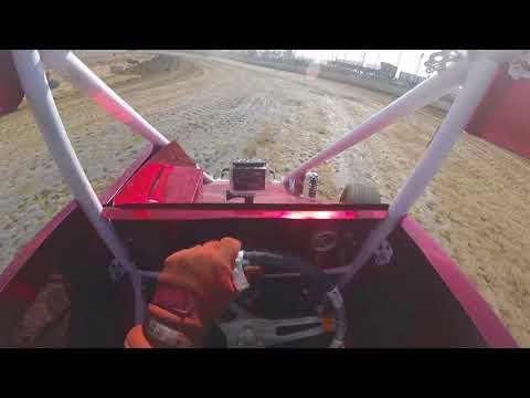 Kevin York micro sprint practice Nevada Speedway