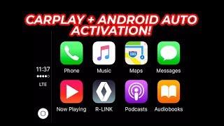 Компанія Apple CarPlay і андроїд Auto активації по посиланню
