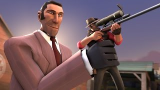 TF2: The Sniper-Spy [Live]