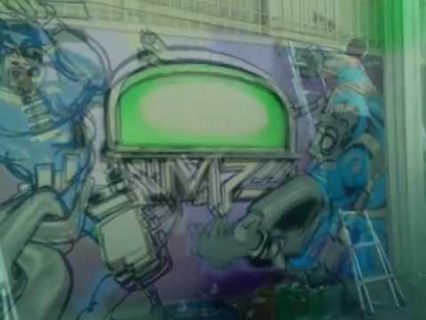 BATTLE FOR LOS ANGELES GRAFFITI PICTURE VIDEO