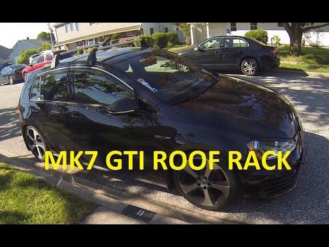 MK7 GTI OEM Roof Rack Install