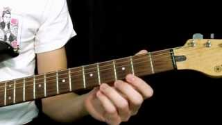 How To Write Easy Power Chord Rock Riffs - T and L Shapes
