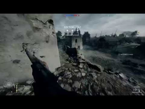 Battlefield 1 | Online Operations St. Quentin Scar [4K 60FPS] [Ultra Settings]
