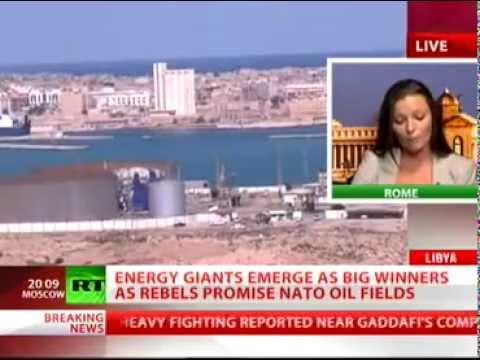 Libya's Oil to be Exploited by the West (RT Report)