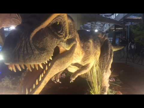 Jurassic Quest brings dinosaurs to the New York State Fairgrounds