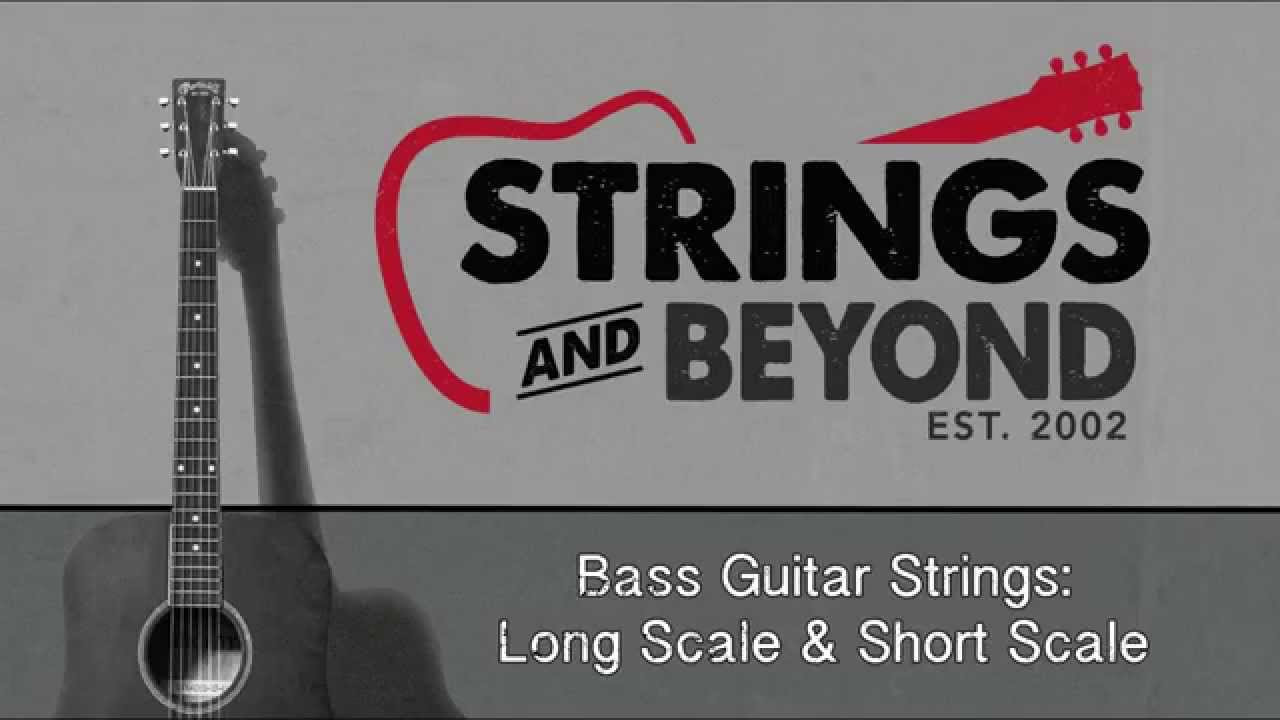 bass guitar strings long scale and short scale youtube. Black Bedroom Furniture Sets. Home Design Ideas