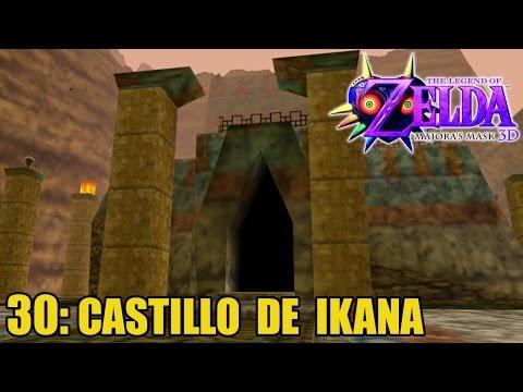 The Legend of Zelda: Majora's Mask 3D #30 - Escudo Espejo y Castillo Ikana- Guía 100% en español