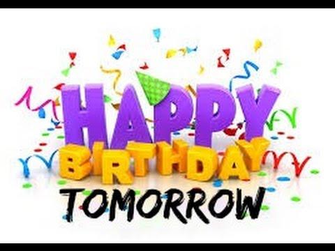 Ich Hab Morgen Geburtstag