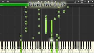 Mike Tyson's Punch Out - Fight/Main Theme Piano Tutorial Synthesia