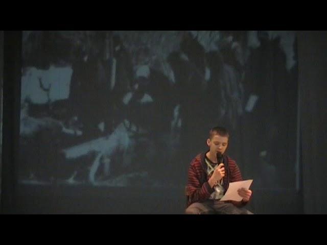 Изображение предпросмотра прочтения – ДанилКызин читает произведение «Ленинградский салют» (Бергольц Ольга)