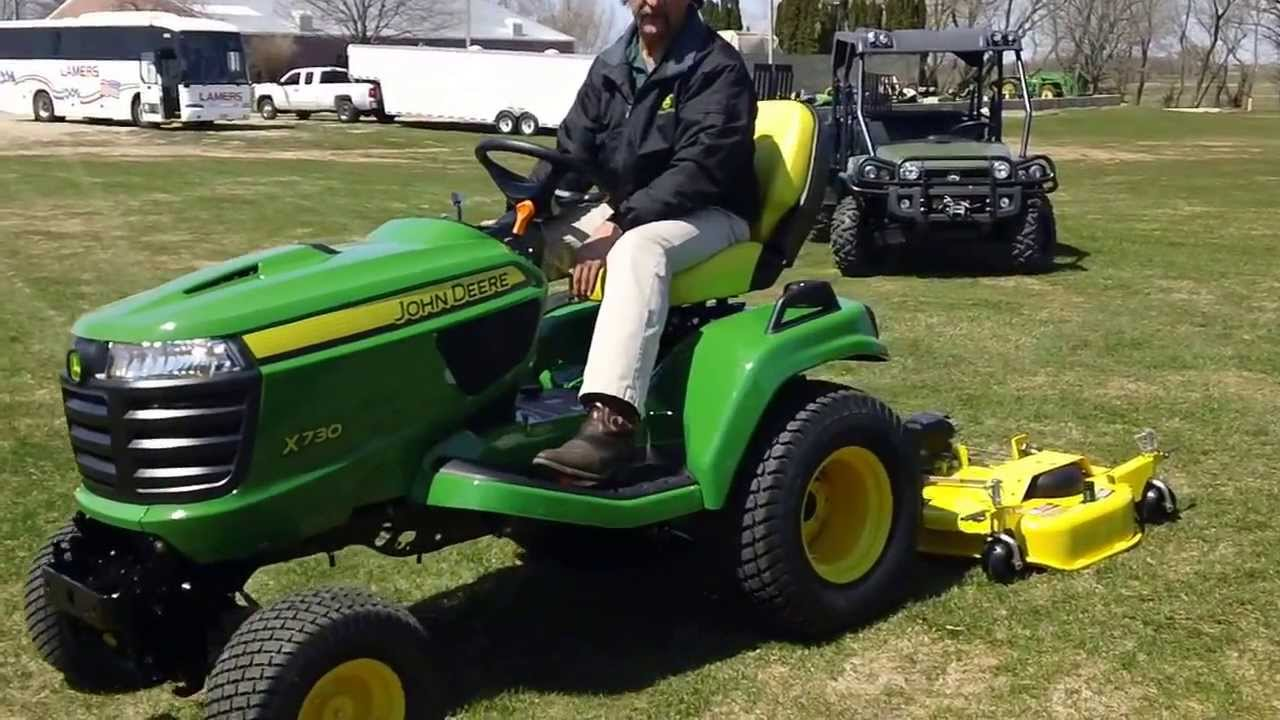John Deere X 738 Wiring Diagram 31 Images D110 Auto Connect Signature X700 Series Lawn Tractor Youtube
