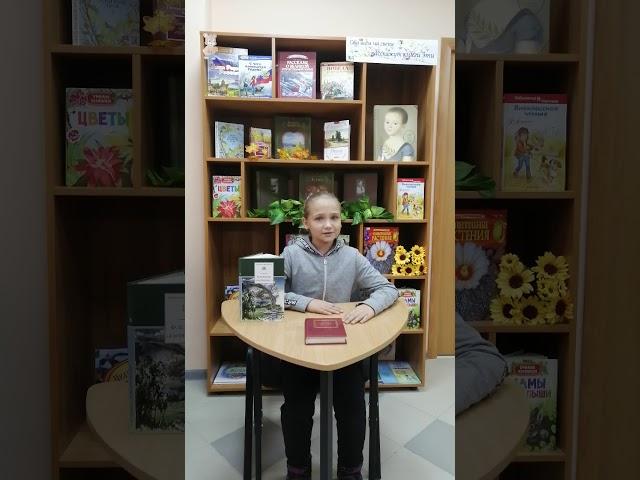 Изображение предпросмотра прочтения – ОлесяПротасова читает произведение «Есть в осени первоначальной...» Ф.И.Тютчева