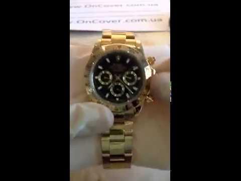 купить золотые часы ролекс мужские