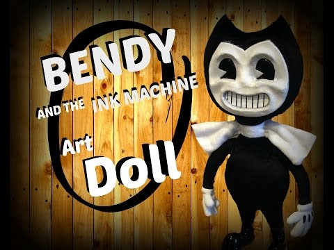 bendy and the ink machine doll