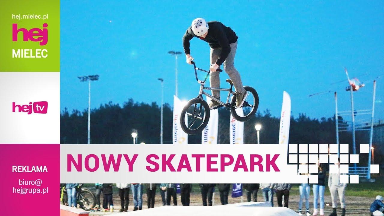 hej.mielec.pl TV: Nowy skatepark w Mielcu