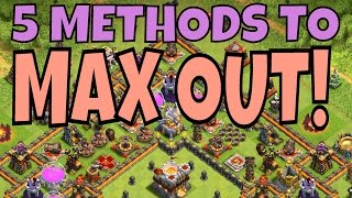 FARMING TO MAX! 5 Strategies for Th11/10 [Clash Of Clans]