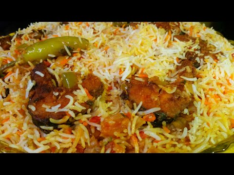 How to make fish biryani  [full recipe]