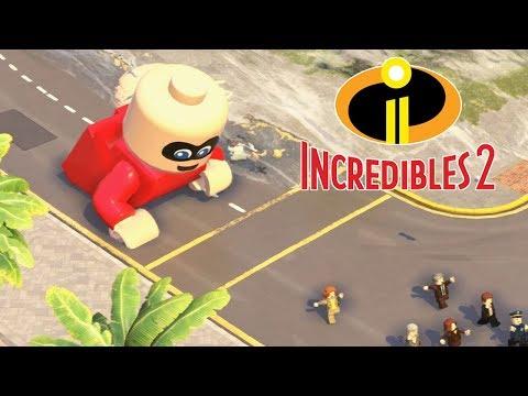 LEGO THE INCREDIBLES 2 All Endings - Final Boss & Ending