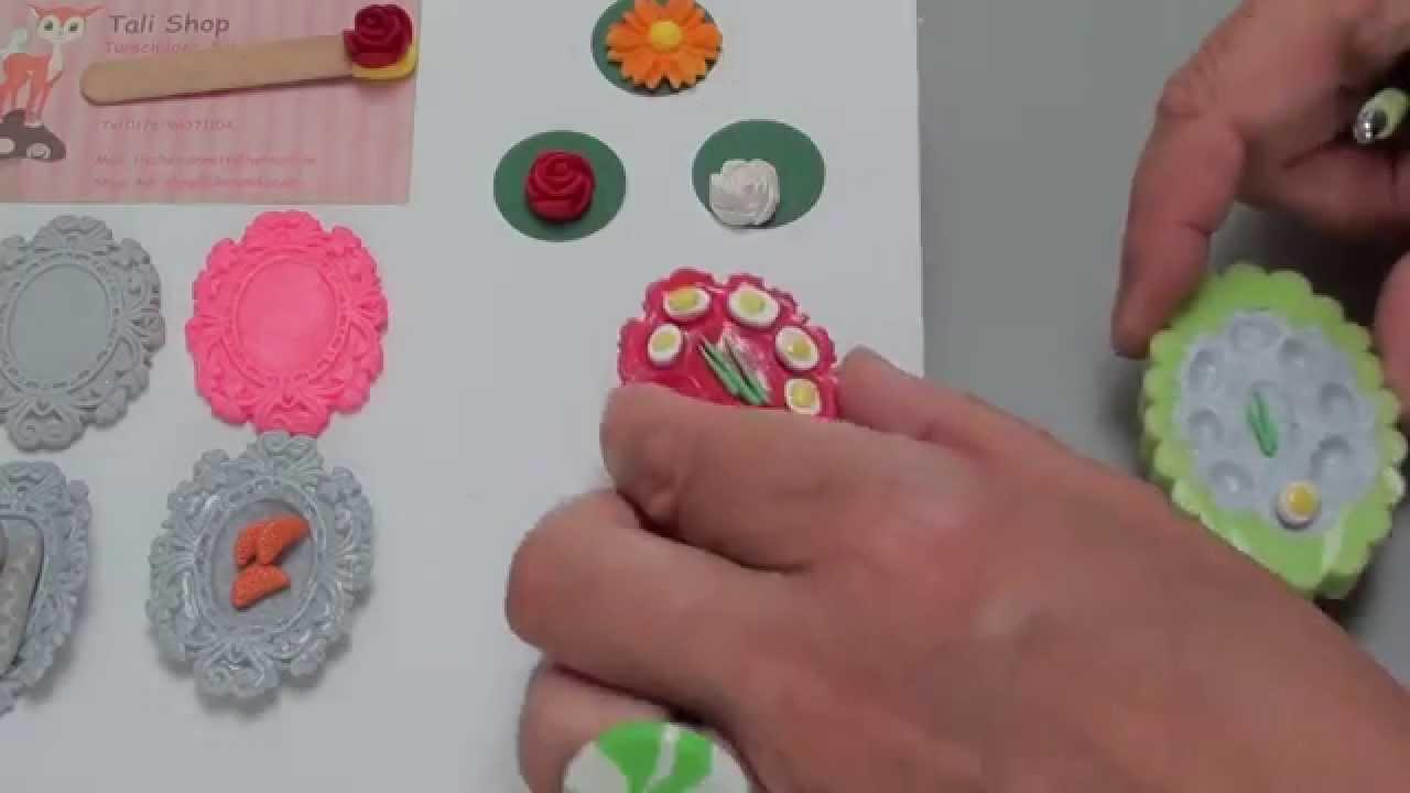 9 diy tuto fimo anleitung bastel ideen mold teller deko miniatur polymer clay youtube. Black Bedroom Furniture Sets. Home Design Ideas