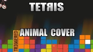 Baixar Tetris - Korobejniki (Animal Cover) but every note - NEW ANIMAL SOUND SOURCE which never used before