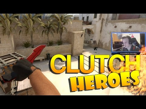 CS:GO - Clutch Heroes! #7