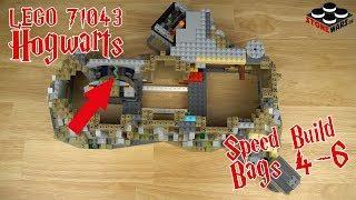LEGO Schloss Hogwarts (71043) Speed Build - Episode 2 (Tüten 4-6)