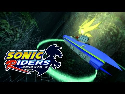 Sonic Riders - Green Cave - Super Sonic [REAL Full HD, Widescreen] 60 FPS