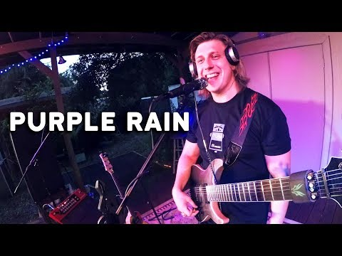 Woody and Wilcox - One Man Band Does An Amazing Purple Rain