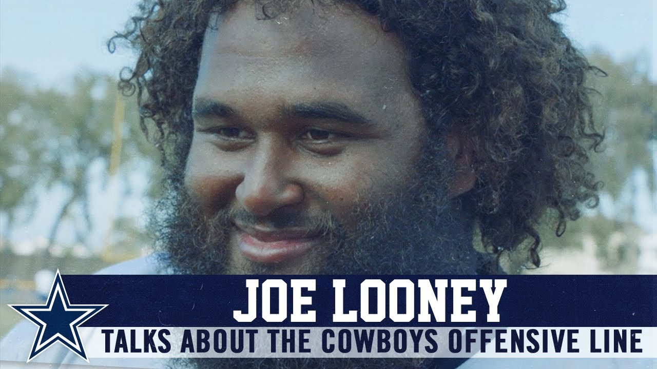 Joe Looney I M Trying To Keep The Standards High Dallas Cowboys 2019 Youtube
